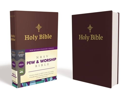 Nrsv, Pew and Worship Bible, Hardcover, Burgundy, Comfort Print