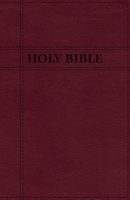 Niv, Premium Gift Bible, Leathersoft, Burgundy, Red Letter Edition, Indexed, Comfort Print