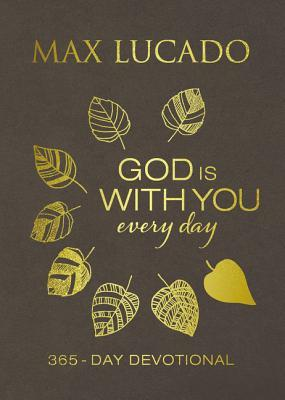 God Is with You Every Day (Large Text Leathersoft)