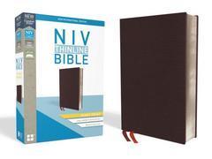 NIV THINLINE BIBLE GIANT PRINT BURGUNDY