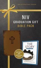 NIV GRADUATION GIFT BIBLE PACK (NIV BIBLE PLUS DEVOTIONAL BOOK) BROWN