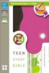 NIV TEEN STUDY BIBLE COMPACT CHOCOLATE/RASPBERRY