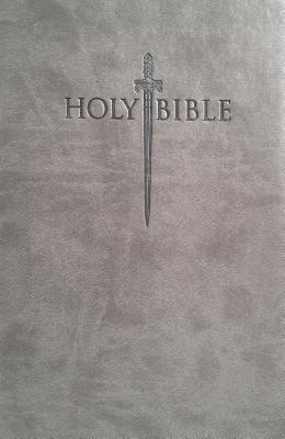 King James Version Easy Read Sword Value Thinline Bible Large Print Gray Ultrasoft