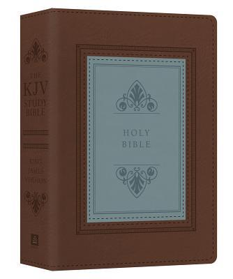 The KJV Study Bible - Large Print - Indexed [teal Inlay]