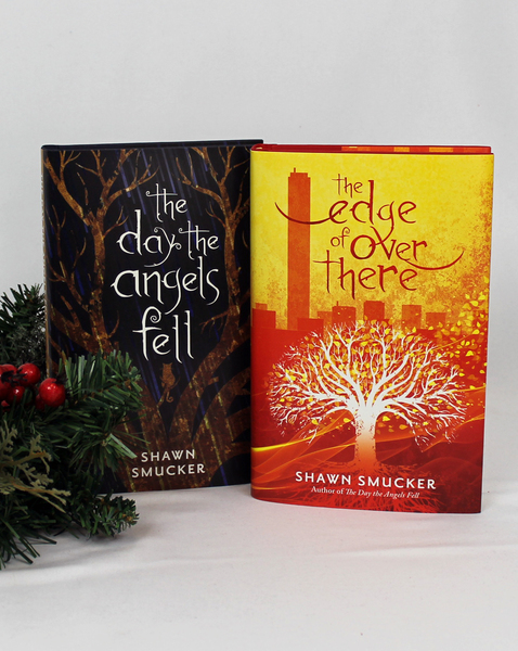 The Day the Angels Fell/The Edge of Over There Book Bundle