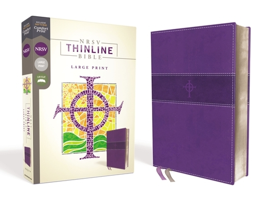 Nrsv, Thinline Bible, Large Print, Leathersoft, Purple, Comfort Print