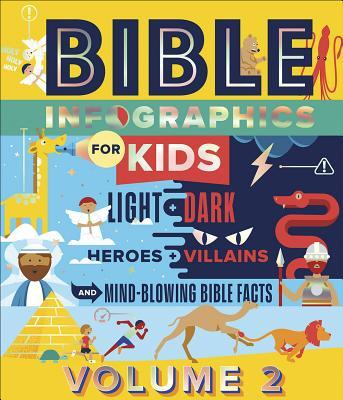 Bible Infographics for Kids, Volume 2: Light and Dark, Heroes and Villains, and Mind-Blowing Bible Facts