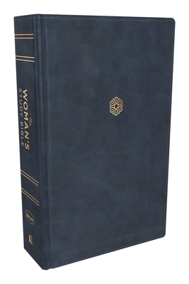 The Nkjv, Woman's Study Bible, Leathersoft, Blue, Full-Color