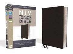 NIV Thinline Reference Bible Black