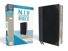 NIV Thinline Bible Compact Black/Gray