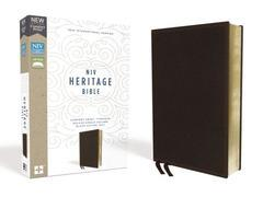 NIV Heritage Bible Comfort Print Brown