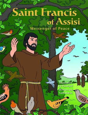 Saint Francis Assisi Messeng Graphic