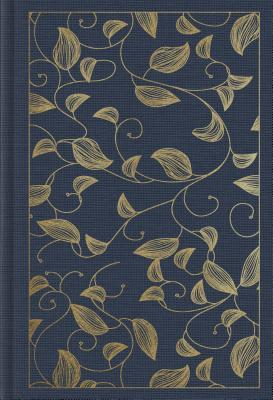 ESV Student Study Bible (Cloth Over Board, Navy, Vine Design)