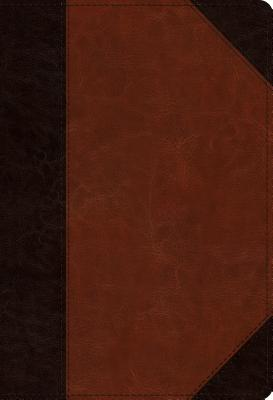 ESV Student Study Bible (Trutone, Brown/Cordovan, Portfolio Design)