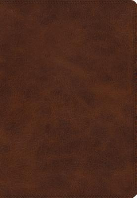 ESV Giant Print Bible (Trutone, Deep Brown)