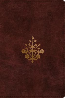 ESV Study Bible, Personal Size (Trutone, Burgundy, Branch Design)
