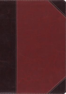 ESV MacArthur Study Bible, Large Print (Trutone, Brown/Cordovan, Portfolio Design)