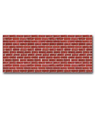 Red Brick Plastic Backdrop