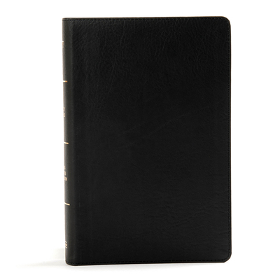 KJV Large Print Personal Size Reference Bible, Black Leathertouch