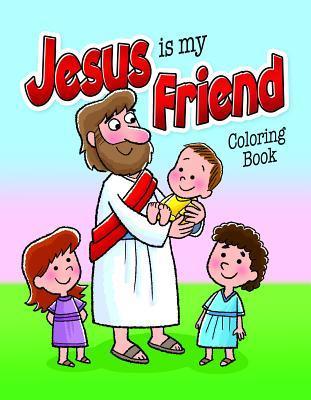 C&a Bks Jesus Is Friend PS 6pk