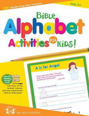 Bible Alphabet Activities Book