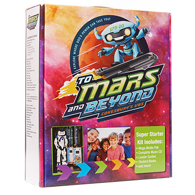 TO MARS AND BEYOND STARTER KIT