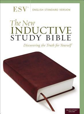 The New Inductive Study Bible (Esv, Burgundy)