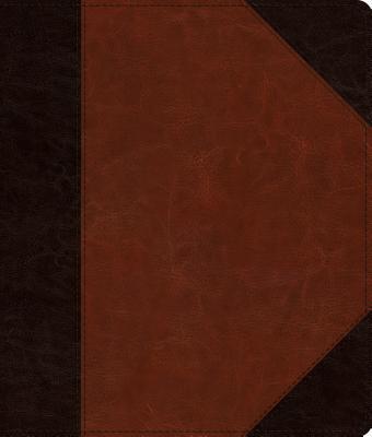 ESV Journaling Bible (Trutone, Brown/Cordovan, Portfolio Design)