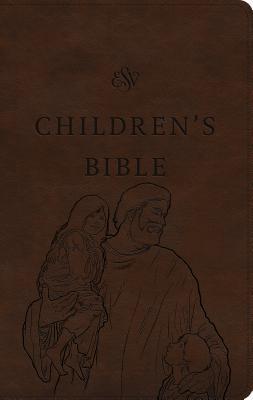 ESV Children's Bible (Trutone, Brown, Let the Children Come Design)