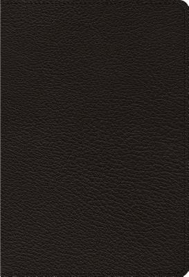 ESV Heirloom Single Column Personal Size Bible (Goatskin, Black)