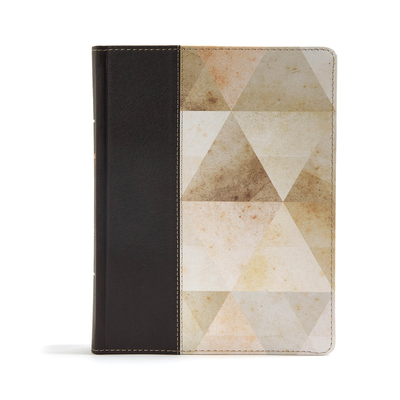 CSB Notetaking Bible, Brown Leathertouch Over Board