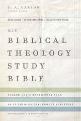 NIV Biblical Theology Study Bible Hardback