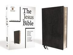 NIV The Jesus Bible Black Leathersoft