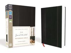 NIV Journal the Word Reference Bible Comfort Print Black Hardcover