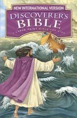 NIV Discoverer's Bible Large Print Hardcover