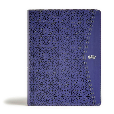 CSB Tony Evans Study Bible, Purple Leathertouch, Indexed