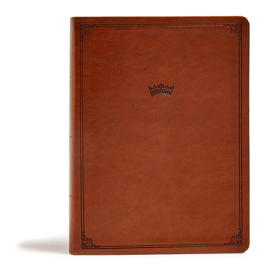 CSB Tony Evans Study Bible, British Tan Leathertouch