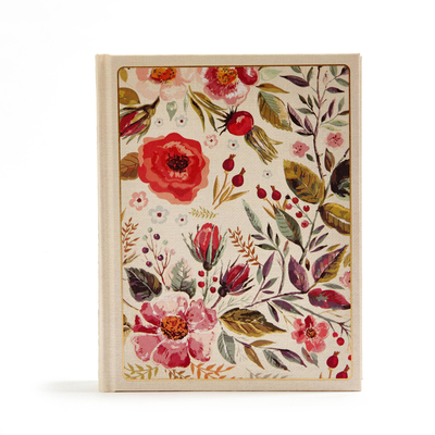 CSB Notetaking Bible, Floral Cloth-Over-Board