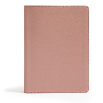 CSB She Reads Truth Bible, Mauve/Rose Leathertouch