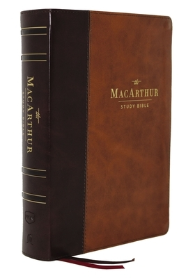 Nkjv, MacArthur Study Bible, 2nd Edition, Leathersoft, Brown, Indexed, Comfort Print