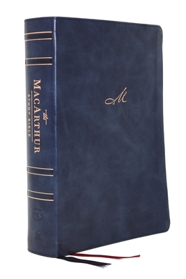 Nkjv, MacArthur Study Bible, 2nd Edition, Leathersoft, Blue, Comfort Print