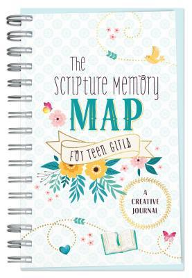 The Scripture Memory Map for Teen Girls: A Creative Journal