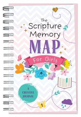 The Scripture Memory Map for Girls: A Creative Journal