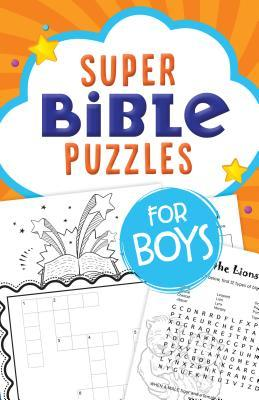 Super Bible Puzzles for Boys