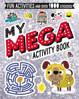 "My Mega Sticker Book"""