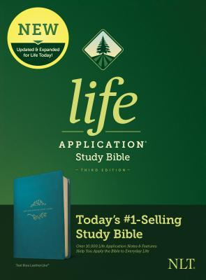 NLT Life Application Study Bible, Third Edition (Leatherlike, Teal Blue)