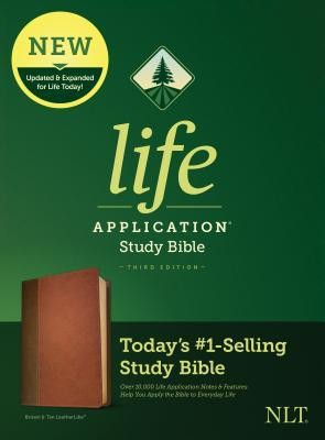 NLT Life Application Study Bible, Third Edition (Leatherlike, Brown/Tan)