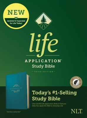 NLT Life Application Study Bible, Third Edition (Leatherlike, Teal Blue, Indexed)