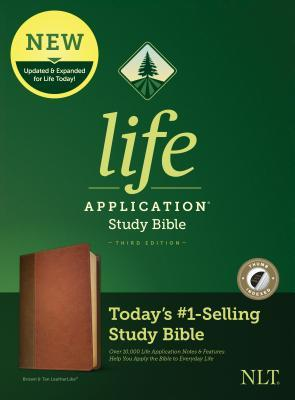 NLT Life Application Study Bible, Third Edition (Leatherlike, Brown/Tan, Indexed)