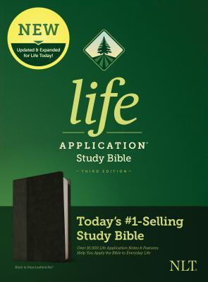 NLT Life Application Study Bible, Third Edition (Leatherlike, Black/Onyx)